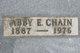 Profile photo:  Abby E. <I>Hall</I> Chain