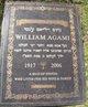Profile photo:  William Agami