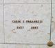 "Elsie Caroline ""Carol"" <I>Egan</I> Paganuzzi"