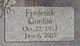 Frederick Gordon Carl