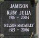 Ruby Julia <I>Collier</I> Jamison