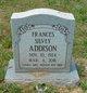 Profile photo:  Frances <I>Silvey</I> Addison