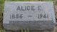 Profile photo:  Alice Euphemia <I>Clark</I> Pistole