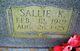 Profile photo:  Sallie Beatrice <I>King</I> Ayscue