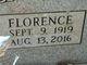 Florence Birchfield