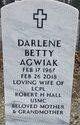 Profile photo:  Darlene Betty Agwiak