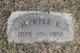 Profile photo:  Myrtle E. <I>Burns</I> Kidwell