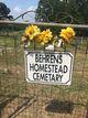 Behrens Homestead Cemetery