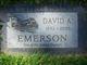 David A. Emerson