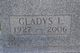 Profile photo:  Gladys Louise <I>Stephens</I> Ackerman