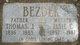 """Elizabeth """"Elsie"""" <I>Cizek</I> Bezdek"""