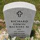 Profile photo:  Richard Edwin Backers, Sr