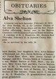 Profile photo:  Alva Shelton