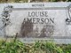 Profile photo:  Louise A <I>Covington</I> Amerson