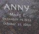 Profile photo:  Mary <I>Spaude</I> Anny