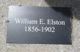 Profile photo:  William E. Elston