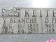 Viola Blanche <I>Watts</I> Keith
