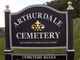 Arthurdale Cemetery