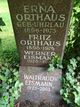 Erna <I>Uhrlau</I> Orthaus
