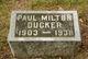 Paul Milton Ducker