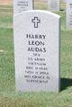 "Profile photo:  Harry Leon ""Butch"" Audas"