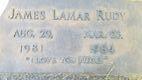 "James LaMar ""Jimmy"" Rudy"