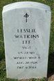 """Lesslie Watkins """"Bud"""" Lee"""
