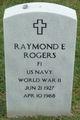 Raymond Edward Rogers