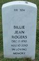 Billie Jean <I>Willmon</I> Rogers
