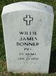 Rev Willie James Bonner