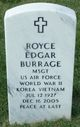 Royce Edgar Burrage