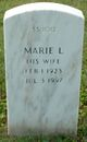 Marie L. <I>Lampley</I> Martin