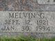 Profile photo:  Melvin G Adams