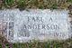 Earl A Anderson