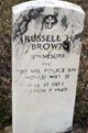 Russell H Brown