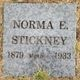 Norma E <I>Gustine</I> Stickney