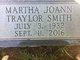 Profile photo:  Martha Joann <I>Traylor</I> Smith
