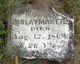 Mary E <I>Davis</I> Slaymaker