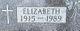 Profile photo:  Elizabeth Catherine <I>Wilhelmi</I> Dreher