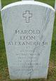 Harold Leon Alexander Sr.