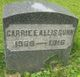 Carrie Eliza <I>Currey</I> Gunn