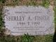 Shirley A Fisher