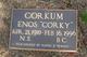 "Enos Henry ""Corky"" Corkum"