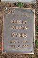 Shirley <I>Wilson</I> Myers