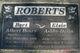 """Albert Henry """"Bert"""" Roberts"""