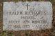 PVT Ralph Richards
