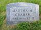 Martha Adeline <I>Bates</I> Graham