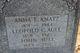 Anna E. <I>Aull</I> Knatz