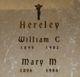 Mary M. <I>Martin</I> Hereley