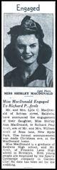 Profile photo:  Shirley A. <I>MacDonald</I> Arelt